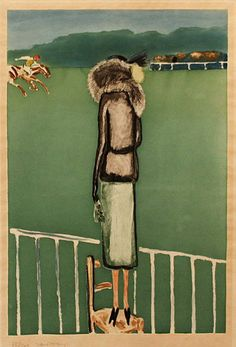 KEES VAN DONGEN - 'LE RENARD ARGENTE' - Aquatint, ca. 1928