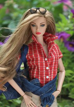 Spicy in Spain Poppy Parker Bad Barbie, Barbie Dream, Barbie And Ken, Barbie Style, Beautiful Barbie Dolls, Pretty Dolls, Chic Chic, Fashion Royalty Dolls, Fashion Dolls