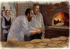 Victor Brindatch (Russian/Israeli) 'Making Matzos'