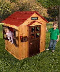 Another great find on #zulily! Red Roof Modular Playhouse by KidKraft #zulilyfinds