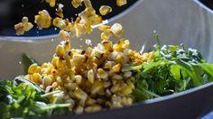 Insalata di mais pollo e peperoni. Le migliori ricette americane da barbecue