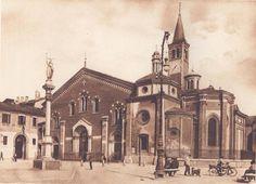 Basilica di Sant'Eustorgio, fine anni Venti del XX secolo