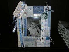 Personalized scrapbook Frame~ by  The Fairydust Treasures