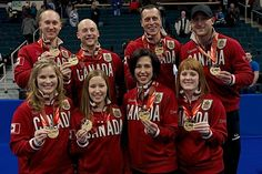 SOCHI, Russia — Canada's men's and women's curling teams have arrived in Sochi for the 2014 Winter O Bali, I Am Canadian, Jennifer Jones, Winter Olympics, Curlers, S Man, Female Athletes, Front Row, Winter