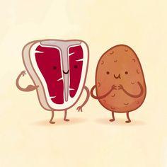 Galletas y leche, tocino y huevos, café y donas, macarrones con queso; cada alimento tiene a su otra mitad y juntos hacen una combinación tan perfecta que nuestras papilas gustativas no lo pueden negar, y tampoco lo niega elilustrador Philip Tseng. Por eso, este talentoso diseñador gráfico creóuna adorableserie titulada Taste Buds, en la que […]