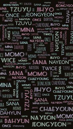 Twice Wallpaper, Tzuyu Wallpaper, Locked Wallpaper, Lock Screen Wallpaper, Twice Tzuyu, Twice Dahyun, Kpop Tumblr, Kpop Logos, Twice Group