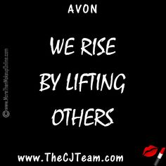 We rise by lifting others. Designed to enlighten and encourage. Inspirational comes in all forms, including Jewelry! Avon is the perfect place to shop for all of your inspirational gifts. #Avon #WeRise #LiftOthers #Encouragement #CJTeam #C12 Never miss out on current Sell Avon Online @ www.cjteam.us. Shop Avon Online @ www.TheCJTeam.com