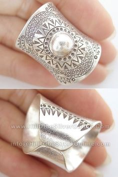 nice beautiful handmade ring! this would make a gorgeous wedding band in a slightly n...