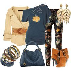 Pantalones Estampados, created by outfits-de-moda2 on Polyvore