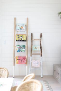 Cabinet Paint Colors, Kitchen Paint Colors, Kids Decor, Decor Ideas, Home Decor, Decorative Ladders, Kids Bedroom, Bedroom Ideas, Hutch Cabinet