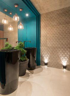 Banheiros: sugestões para decoração tendo muito ou pouco espaço - BOL Fotos - BOL BOL