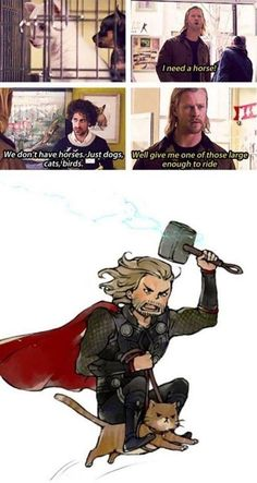 Sometimes, I wonder how Loki ever resisted kicking Thor between the legs.  xD  At the same time, however, the thought of having a guy like this as my brother would make me cry in happiness.