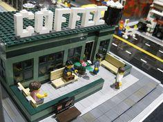 lego coffee house  idea