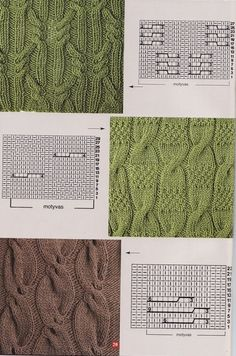 Knitting patterns #knittingstitches