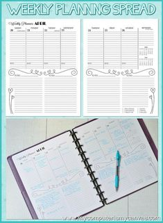 2014 (JAN-DEC) Personal Monthly/Weekly Planner - Printable Instant Download - On SALE