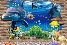 10p-novo-grande-100-70-cm-efeito-3d-de-golfinhos.jpg (732×489)