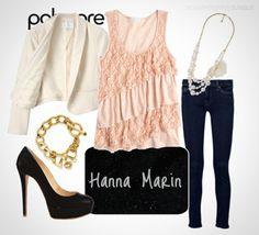 Hanna Marin Style <3 Love this !