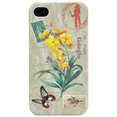 Goegtu iPhone 4 & 4S Case Lily