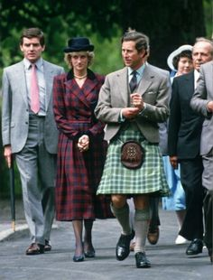 1985-07-02 Diana and Charles visit Stornoway, Isle of Lewis, in the Outer Hebrides