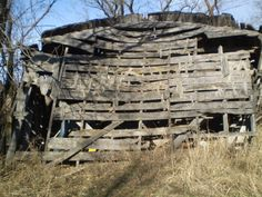 Old building, old wood!
