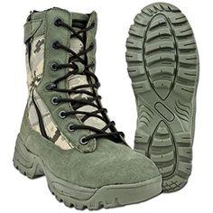 Mil-Tec - bota militar hombre multicolor camouflage Talla:6 UK / 40 EU
