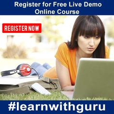 Are you interested in joining online course with EasyLearning.guru?  Before that Register with us for Free Live Demo. Its very simple.
