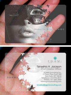 21 Best Transparent Business Card Design Images Business Card