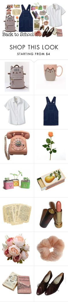 """#PVxPusheen"" by elle01-1 ❤ liked on Polyvore featuring Pusheen, Lands' End, Shandell's, Avon, Miss Selfridge, contestentry and PVxPusheen"