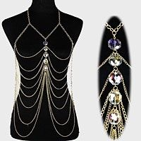 Body chain with diamonds · I Heart Fashion xoxo · Online Store Powered by Storenvy
