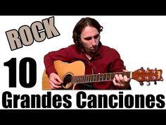 Aprende 10 Grandes Canciones de Rock Fáciles en Guitarra Acústica TCDG - YouTube