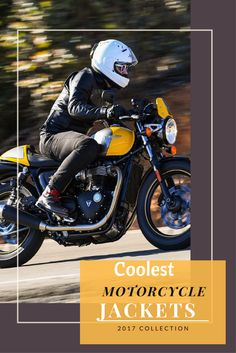 Get your coolest leather jacket. Which not only for style but also give you the best protection possible in worst-case scenarios.