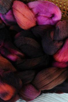 Polwarth  selbstgefärbt:) Merino Wool Blanket, Colors
