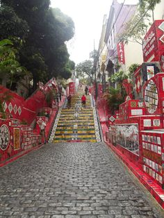 Escadaria Selaron, Rio De Janeiro.