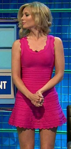 Rachel Riley Beautiful Legs, Most Beautiful Women, Rachel Riley Countdown, Racheal Riley, Tv Girls, Gorgeous Blonde, Anna, Famous Women, Celebs