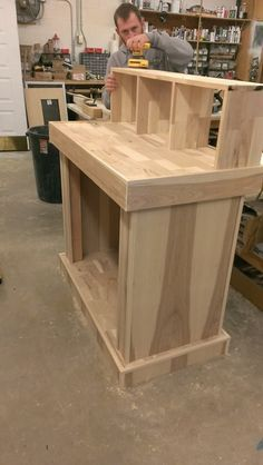 """Official """"HOW TO"""" build a basic reloading bench--Plans and Process w/pics - woodworking bench woodworking bench bench base bench diy bench garage workbench bench plans bench plans australia bench plans roubo bench plans sketchup Reloading Table, Reloading Bench Plans, Reloading Room, Tool Bench, Woodworking Bench Plans, Beginner Woodworking Projects, Workbench Plans, Diy Bench, Woodworking Shop"""