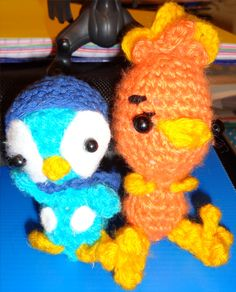 Piplup y Torchic