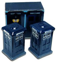 TARDIS salt and pepper