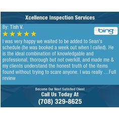 I was very happy we waited to be added to Sean's schedule (he was booked a week out when I...