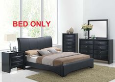 Item specifics     Condition:        New: A brand-new, unused, unopened, undamaged item in its original packaging (where packaging is    ... - https://lastreviews.net/home/furniture/harrison-bedroom-set-modern-1pc-queen-king-size-bed-black-pu-unique-furniture/