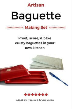 Make crusty baguette