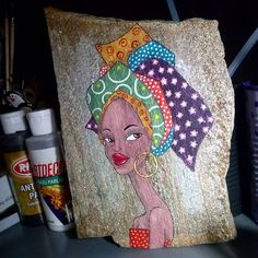 . Stone Painting, Painting On Wood, Painting & Drawing, Rock Painting, Money Making Crafts, Rock And Pebbles, Rock Design, Zen Art, Pictures To Paint