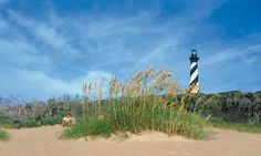 One of the many lighthouses in OBX