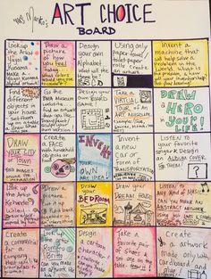 Middle School Art Projects, Classroom Art Projects, High School Art, Art Classroom, Art Lessons Elementary, Art Education Lessons, Art Doodle, Classe D'art, Art Sub Plans
