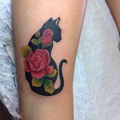 Este gato, que está se sentindo particularmente rosado. | 26 tatuagens purrr-feitas de gatos