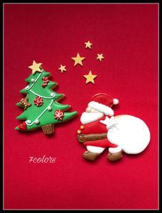 クリスマスクッキー サンタクッキー クリスマス クリスマスツリー Santa Claus Christmas cookies