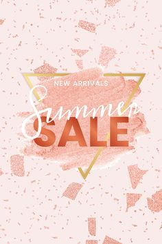 Summer sale styles have just been added to the site! Go grab some warmer weather styles for off! Also, NEW ARRIVALS coming this week so stay tuned✨ . For Sale Sign, Sale Signs, Summer Banner, Promotional Design, Floral Logo, Badge Design, Sale Banner, Sale Promotion, Sale Poster