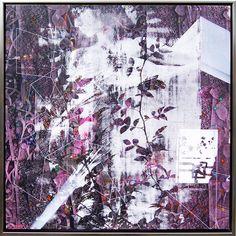 Visible IV 2017 Malerei auf Leinwand 80 x 80 cm (Im Rahmen 84 x 84 cm)