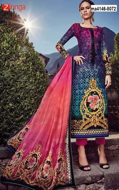Women's Beautiful Multi Color Velvet Salwar #Fashion #Trending #Nice #Amazing #Popular #Collection #New #Offers #Fashionble #Zinngaoffers #Deals #Salwars
