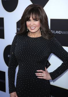 See Marie Osmond's Transformation From Her Teenage Years to Now Marie Osmond, Cut Her Hair, Hairstyle Look, Red Carpet Event, Hollywood Walk Of Fame, Teenage Years, Brad Pitt, Looking Gorgeous, Women Empowerment