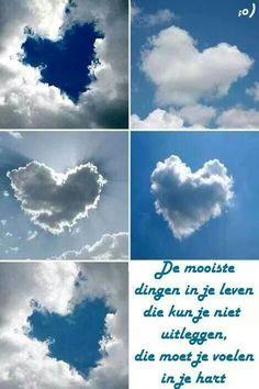 Mooi...als kind voelde het kijken naar de wolken als een bijzondere ervaring!